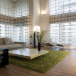 Latest Drapes: Two Modern Curtain Designs For Living Room