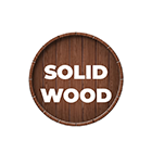 Solid hard wood Brand 6