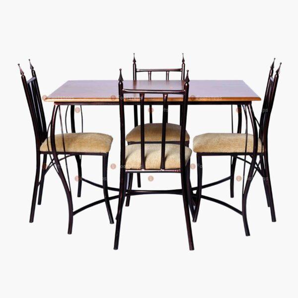 Metalic dining table