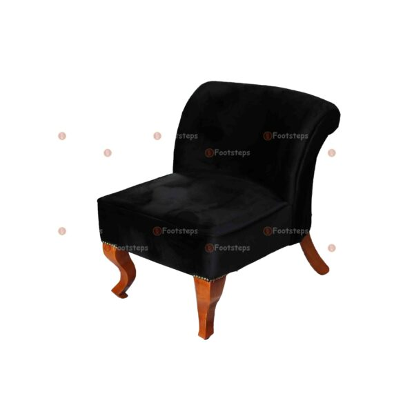bed side chair black#1