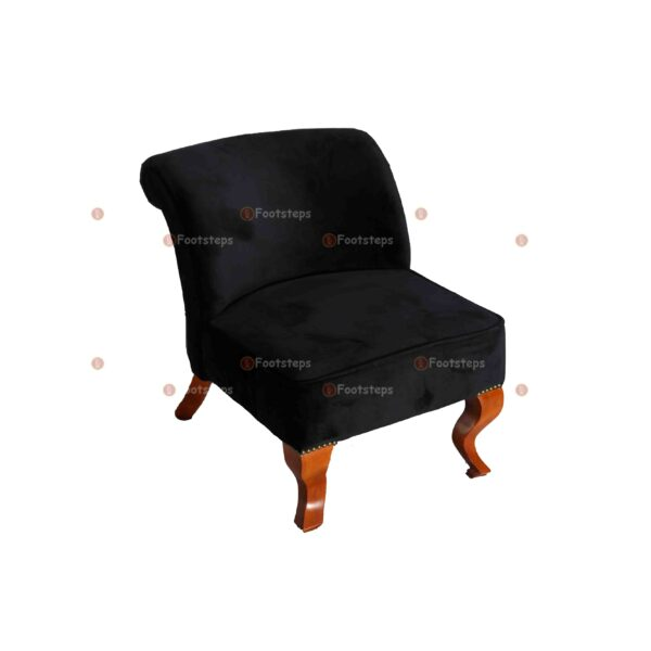 bed side chair black#2