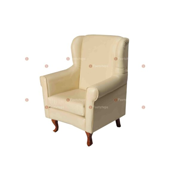 bed side chair cream #1