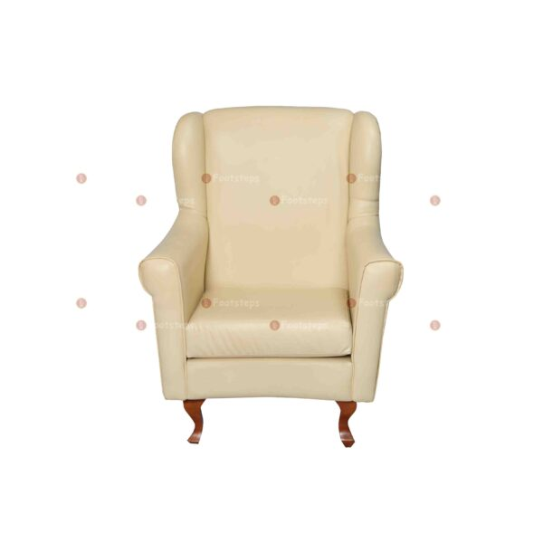 bed side chair cream #2