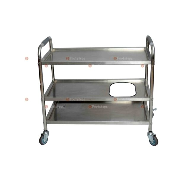 food carrier silver #4