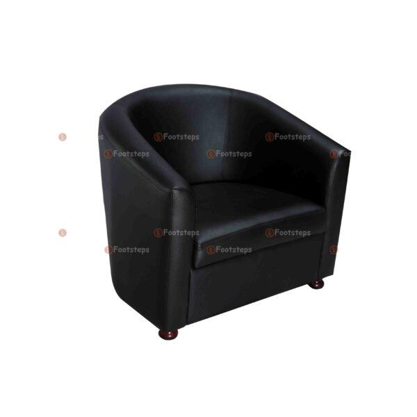 ofice waiting chair black #1