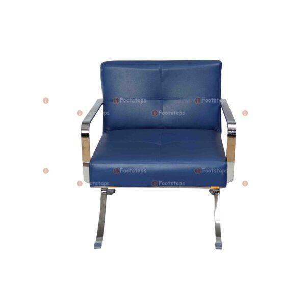 waiting chair blue #2