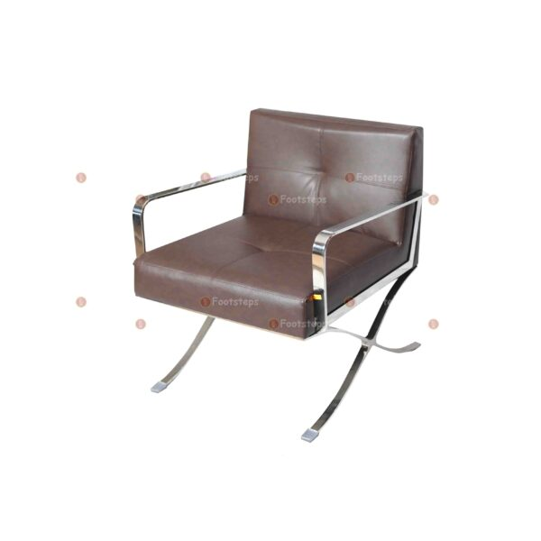 waiting chair brown#2