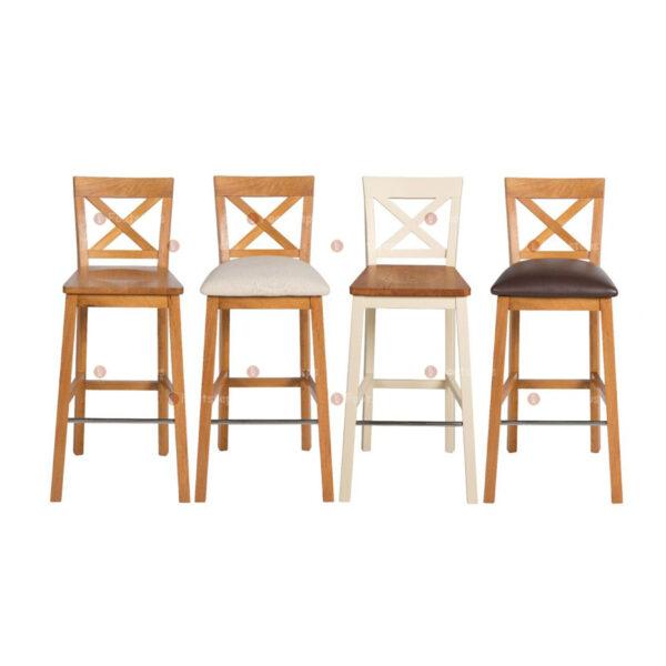 Java-Cross-Tall-Oak-Kitchen-Bar-Stool—Brown-Leather-Pad-1