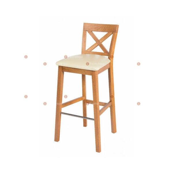 javaba252-java-cross-tall-oak-kitchen-bar-stools-cream-leather-seat-pad-1-1